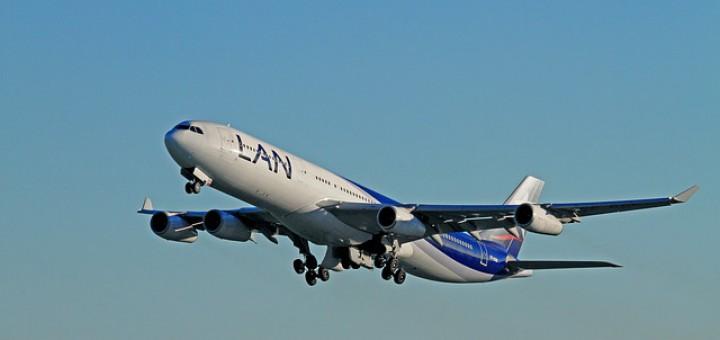 Flug nach Chile