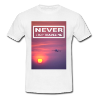 T-Shirts für Reisende, Backpacker und Weltenbummler
